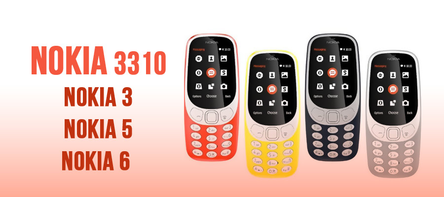 More people attracted with NOKIA 3310 phone
